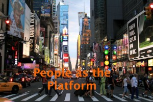 People as the platform